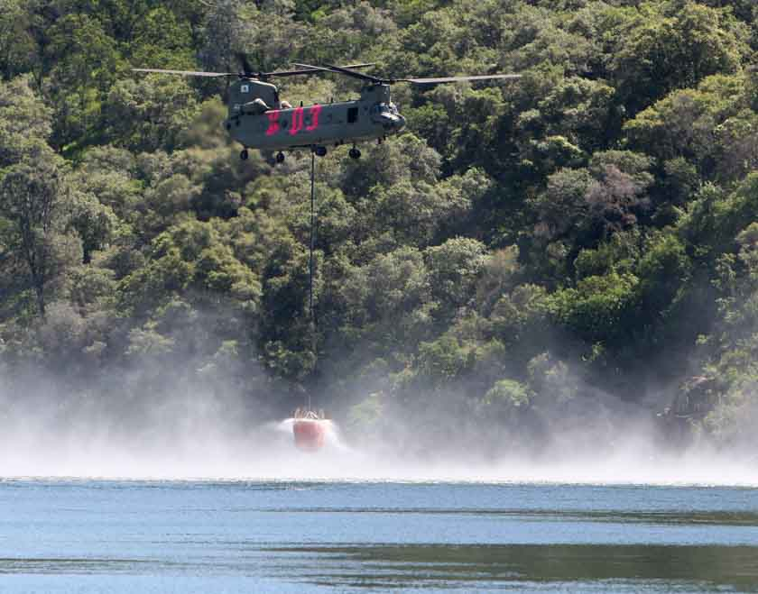 California national guard fire helicopter training
