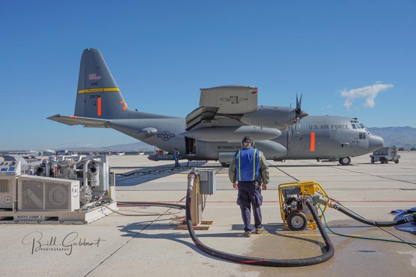 MAFFS air tanker Boise