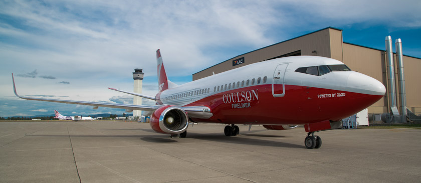 Photos Of Coulson S 737 300 Air Tanker Fire Aviation