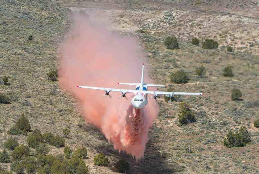 Coulson C-130 air tanker