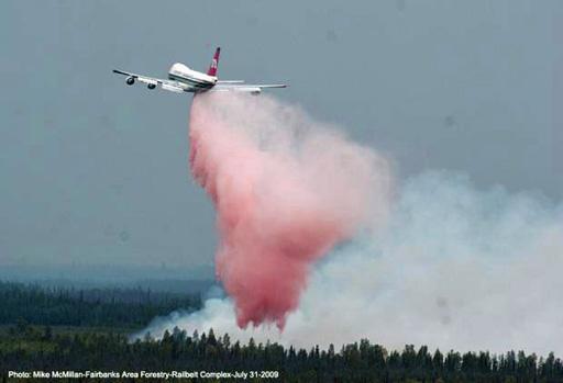 747 Supertanker first drop 2009