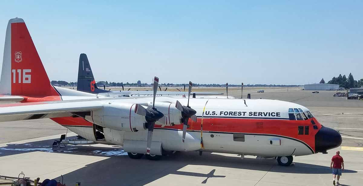 C-130's at Fresno Saturday