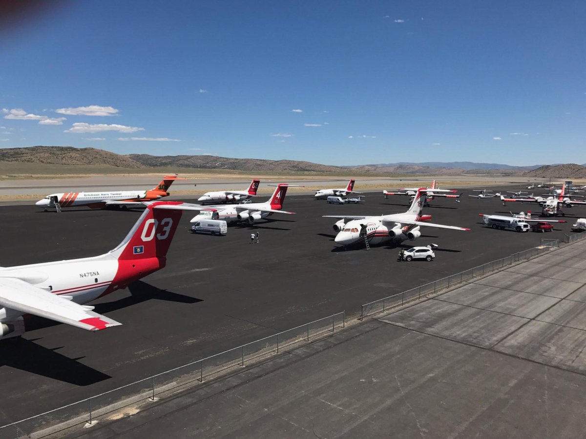 Air tankers Reno Stead