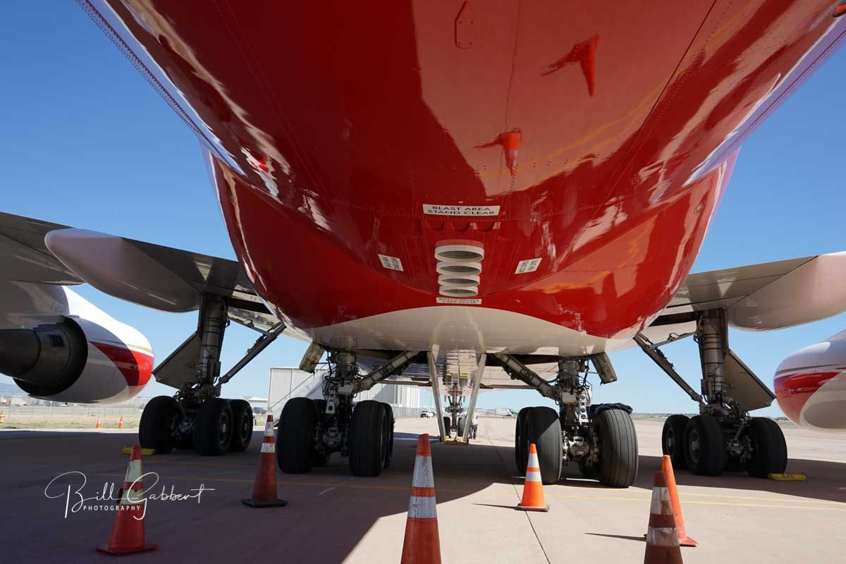 747 SuperTanker receives firefighting contract with CAL FIRE
