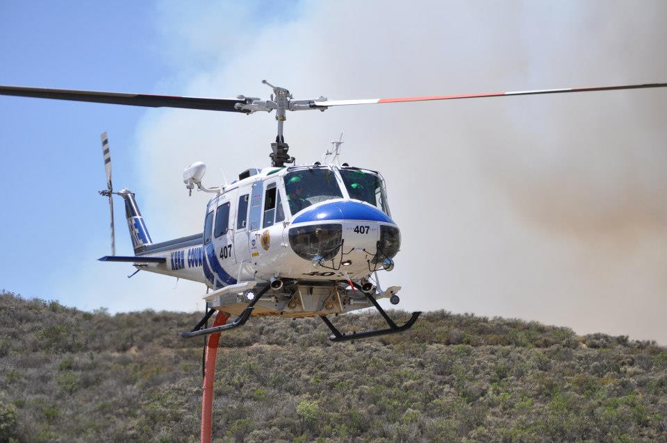 Kern County FD Helicopter 407 UH-1H