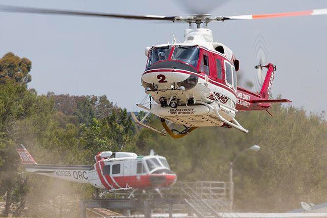 Orange County Fire Authority helicopters