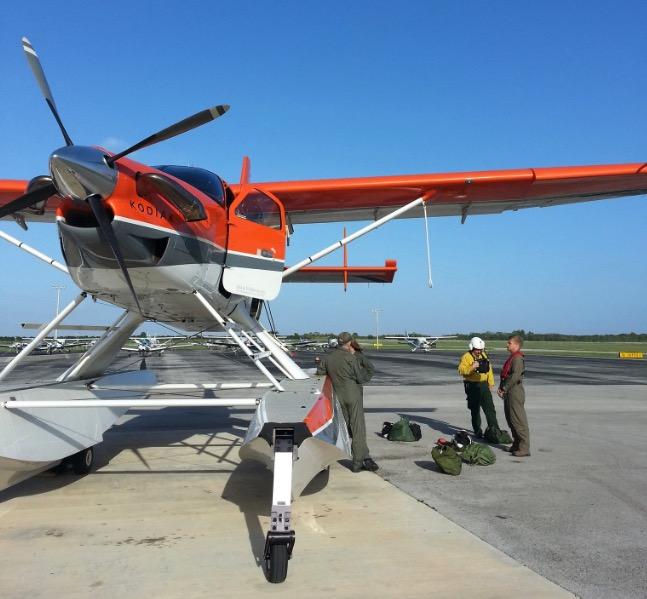 National Park Service amphibious aircraft