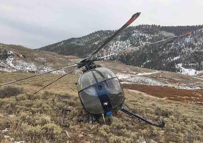elk helicopter crash