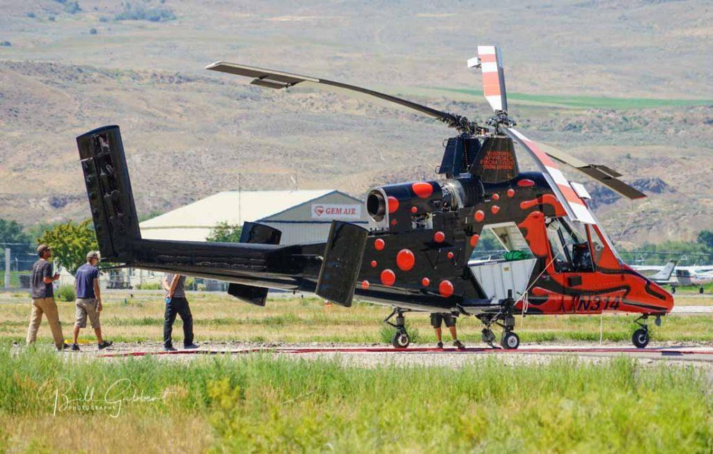 K MAX   Fire Aviation