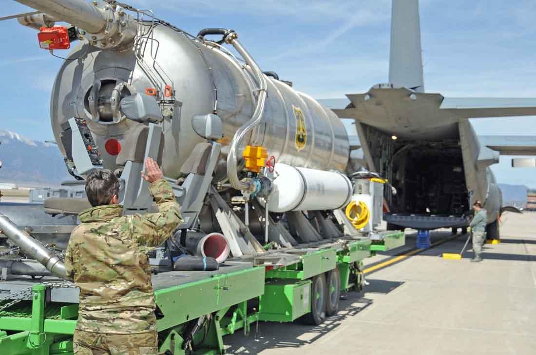 MAFFS air tanker training
