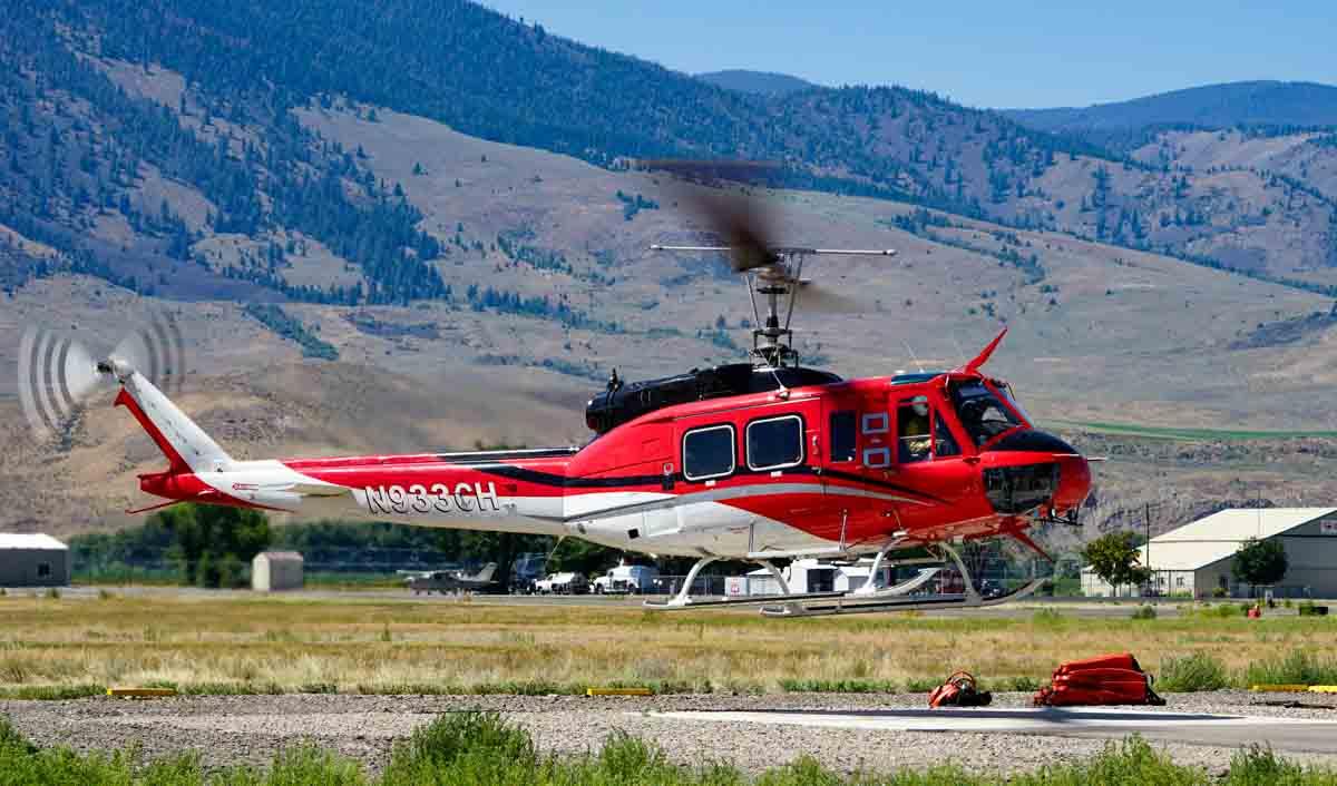 firefighting helicopter salmon idaho