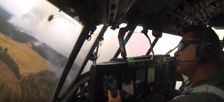 MAFFS cockpit video