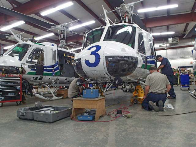 Washington DNR's UH-1H helicopters