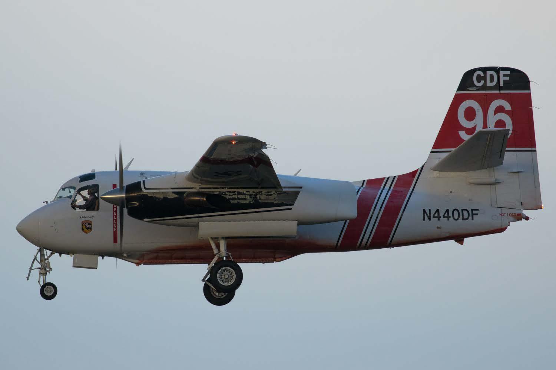 air tanker Medford Klamthon Fire