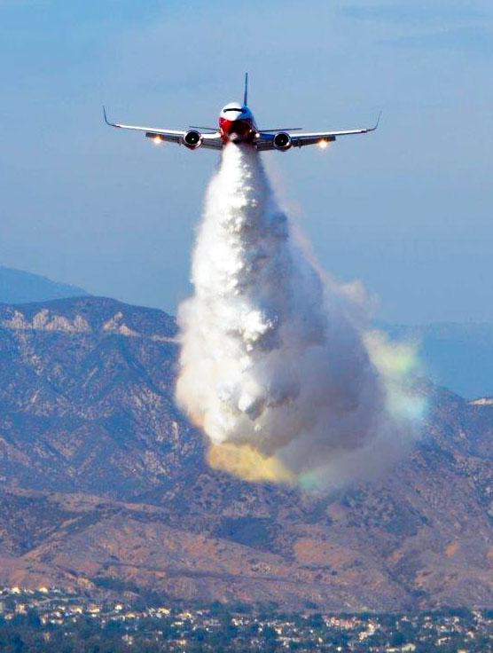 air tanker 137 737 fire