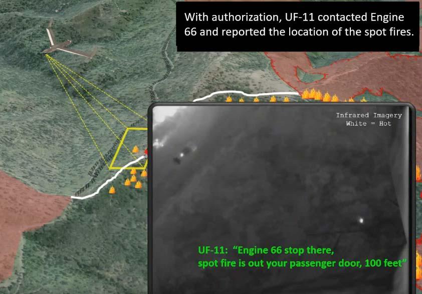 Insitu UAS map fires