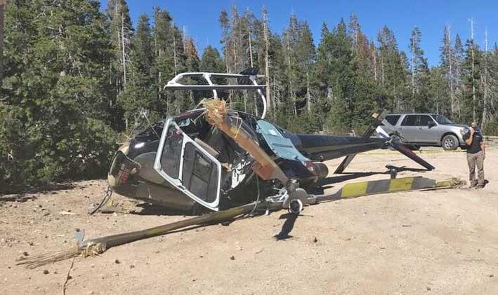 PG&E helicopter crash