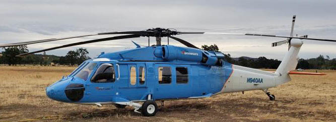 Blackhawk helicopter PG&E