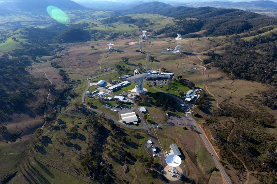 NASA Deep Space Network facilities at Canberra, Australia