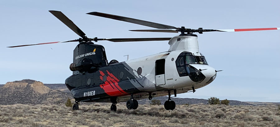 Coulson-Unical CU-47 helicopter