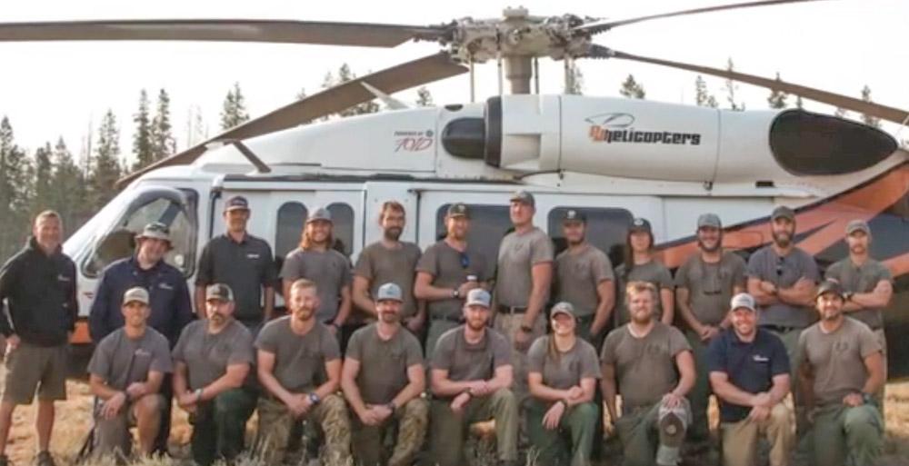 BLM's Boise Helitack Crew