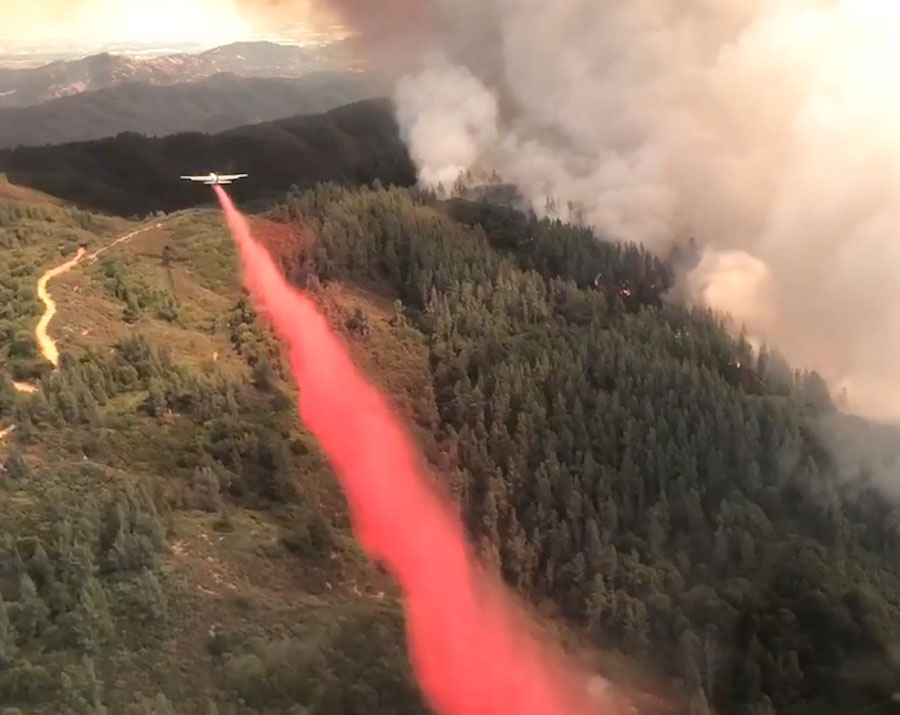 MAFFS retardant drop