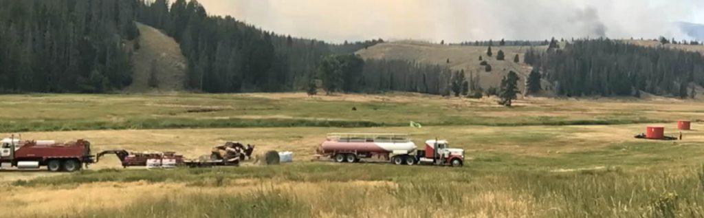 Mobile Retardant Base fire wildfire firefighting