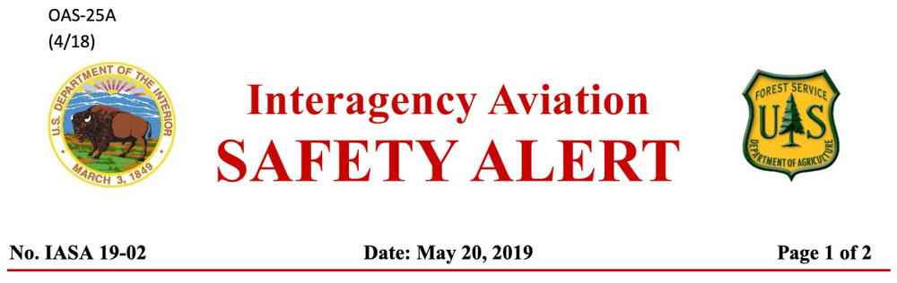 Retardant safety alert