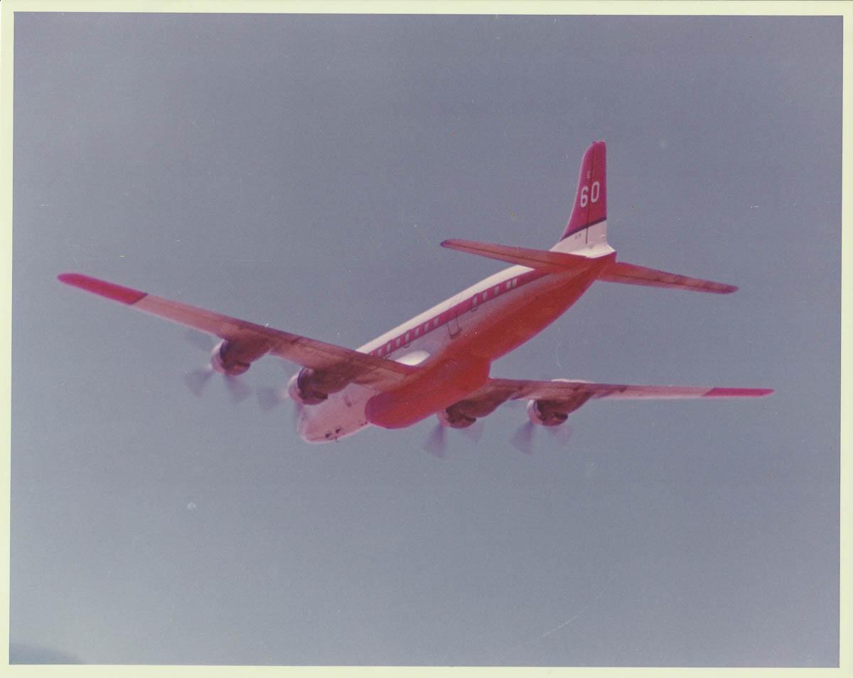 DC-7 air tanker, Tanker 60, N838D