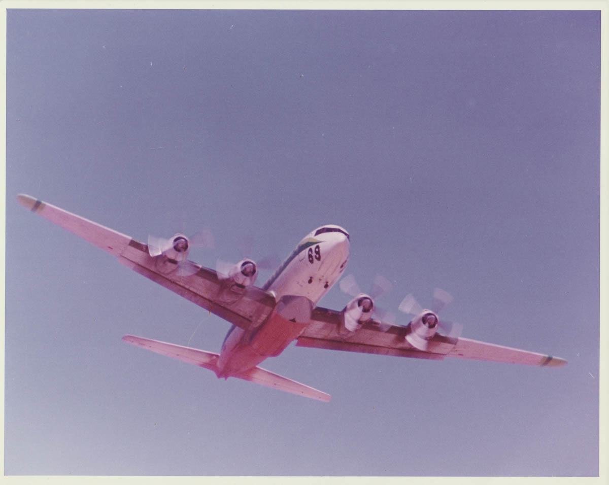 DC-7 air tanker, Tanker 69, N45W