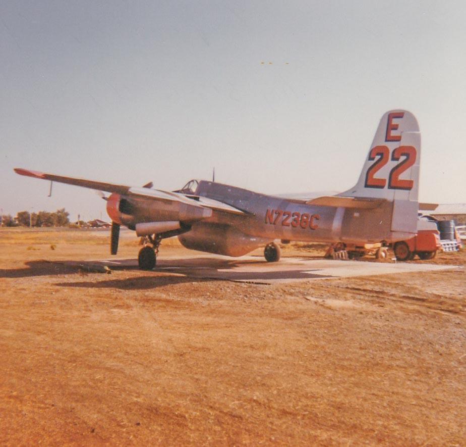 F7F-3 air tanker (N7238C)