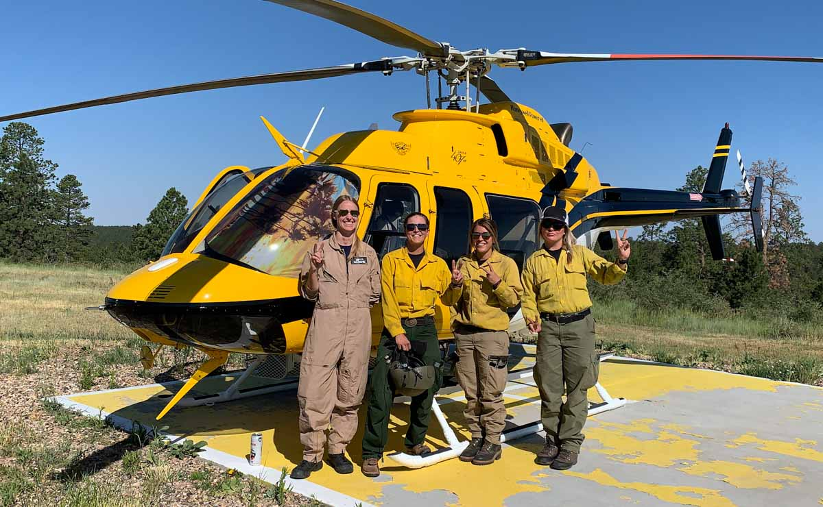 Helicopter Express Female Crew