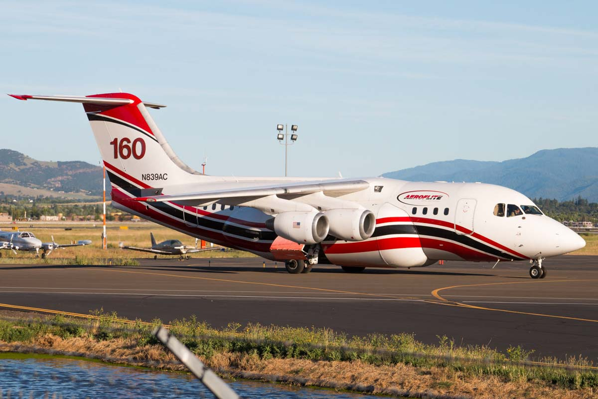 Air Tanker 160 Medford, Oregon June 17, 2019