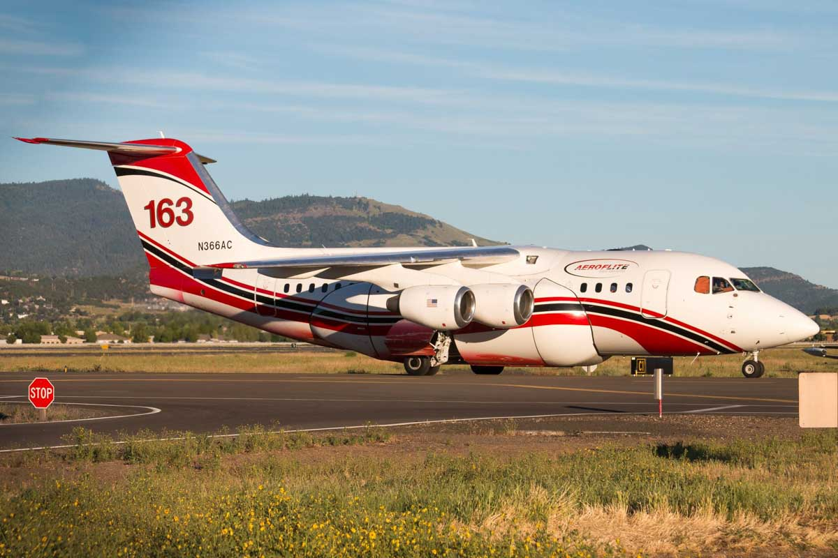 Air Tanker 163 Medford, Oregon June 17, 2019