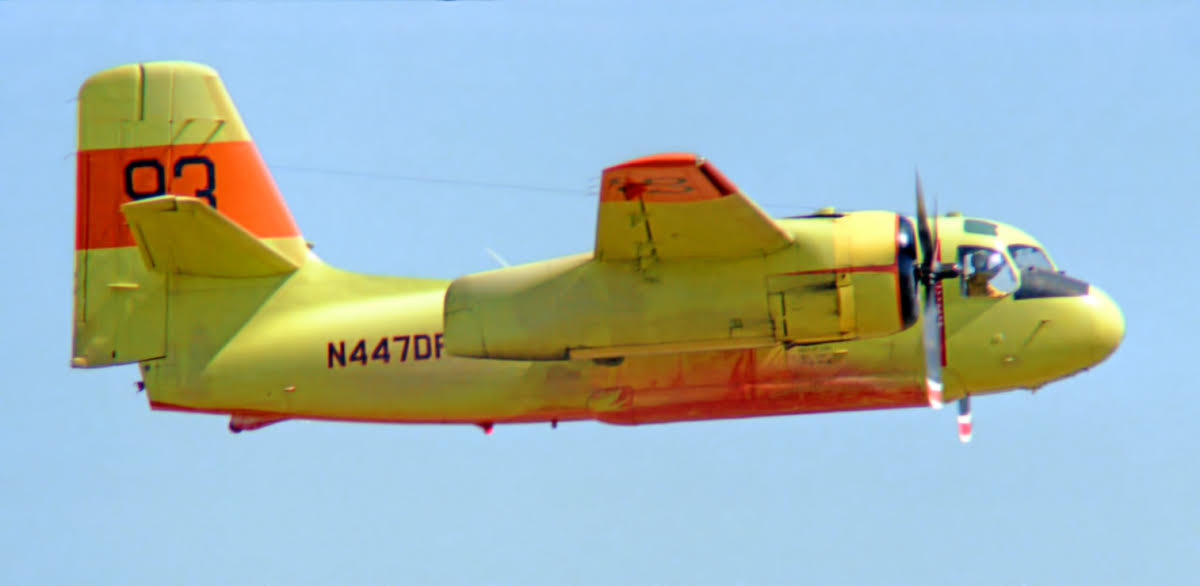 S-2 air tanker N477DF