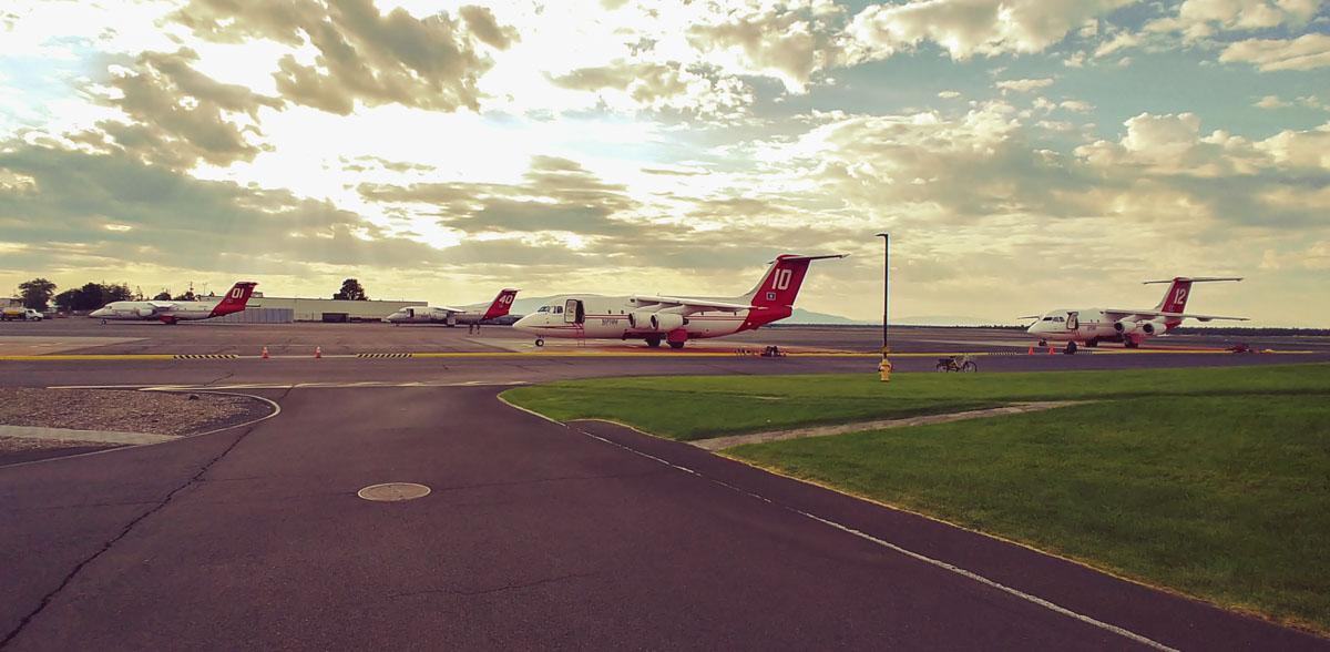 BAe-146 air tankers redmond oregon