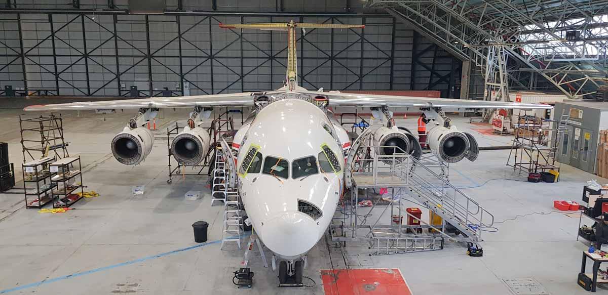 Air Tanker 165 391 RJ86