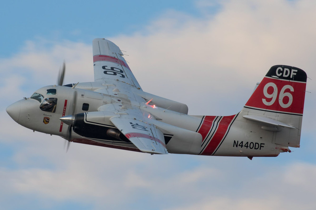 Air Tanker 96 at Medford Oregon