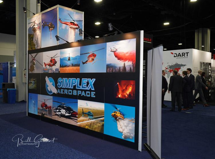 Simplex and DART exhibits