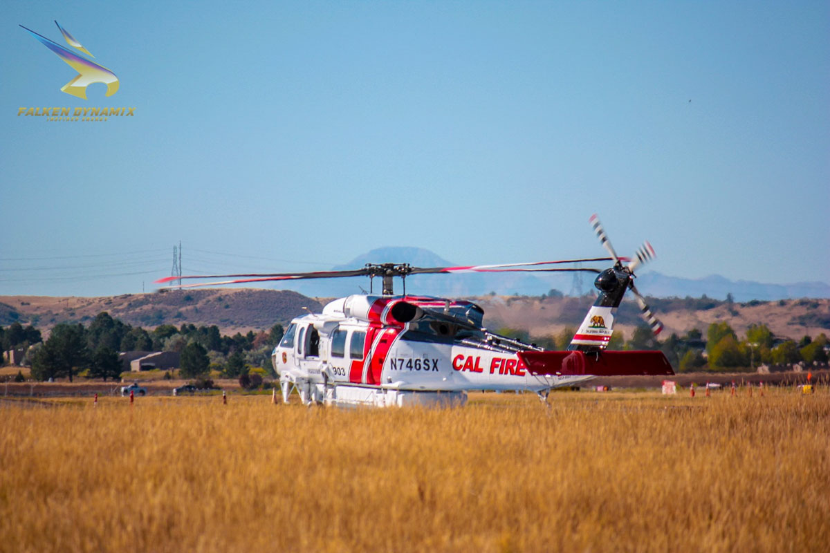 CAL FIRE Firehawk helicopter 903