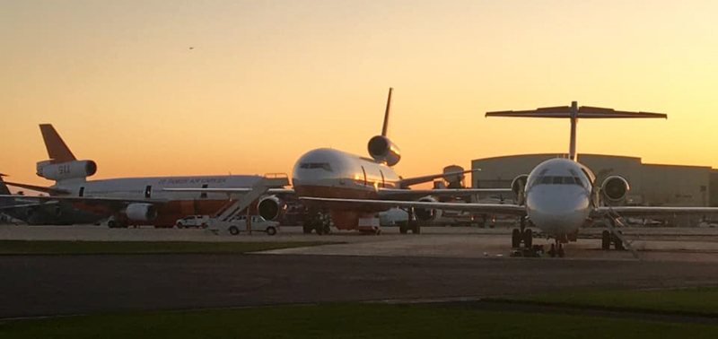 DC-10 Tankers 911 and 914