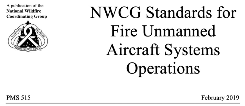 NWCG unmanned aircraft standards