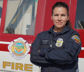 Desiree Horton, Fire Pilot