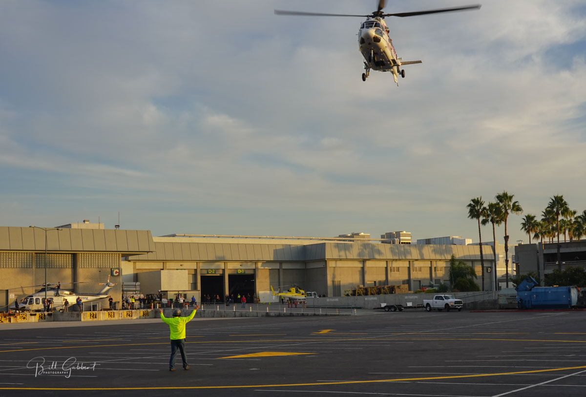 helicopter HAI HELI-EXPO arrival landing anaheim california