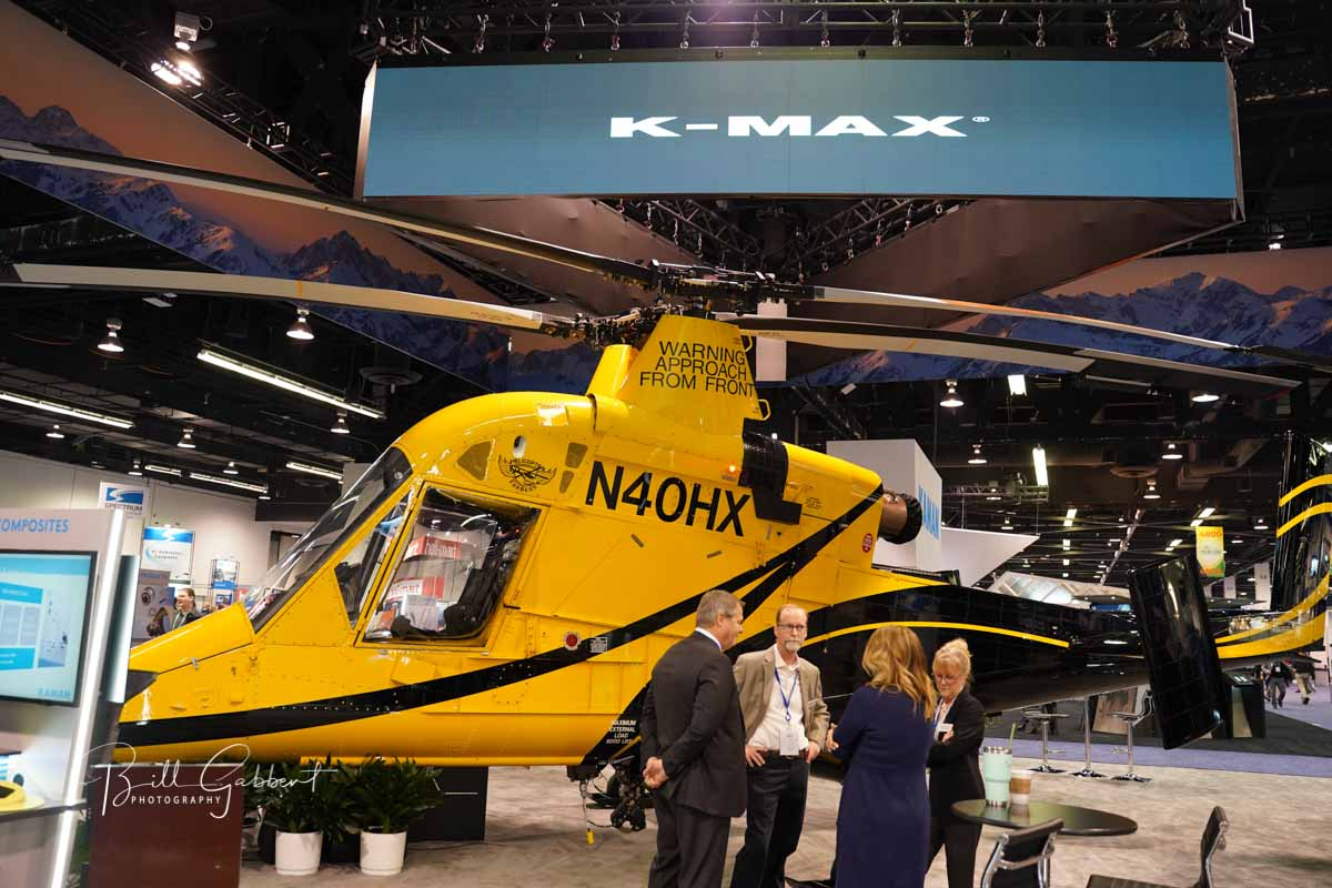 K_MAX HAI HELI-EXPO 2020 Anaheim helicopter