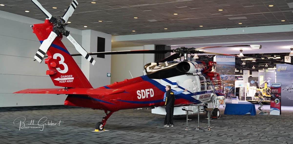 HAI HELI-EXPO 2020 Anaheim helicopter Firehawk