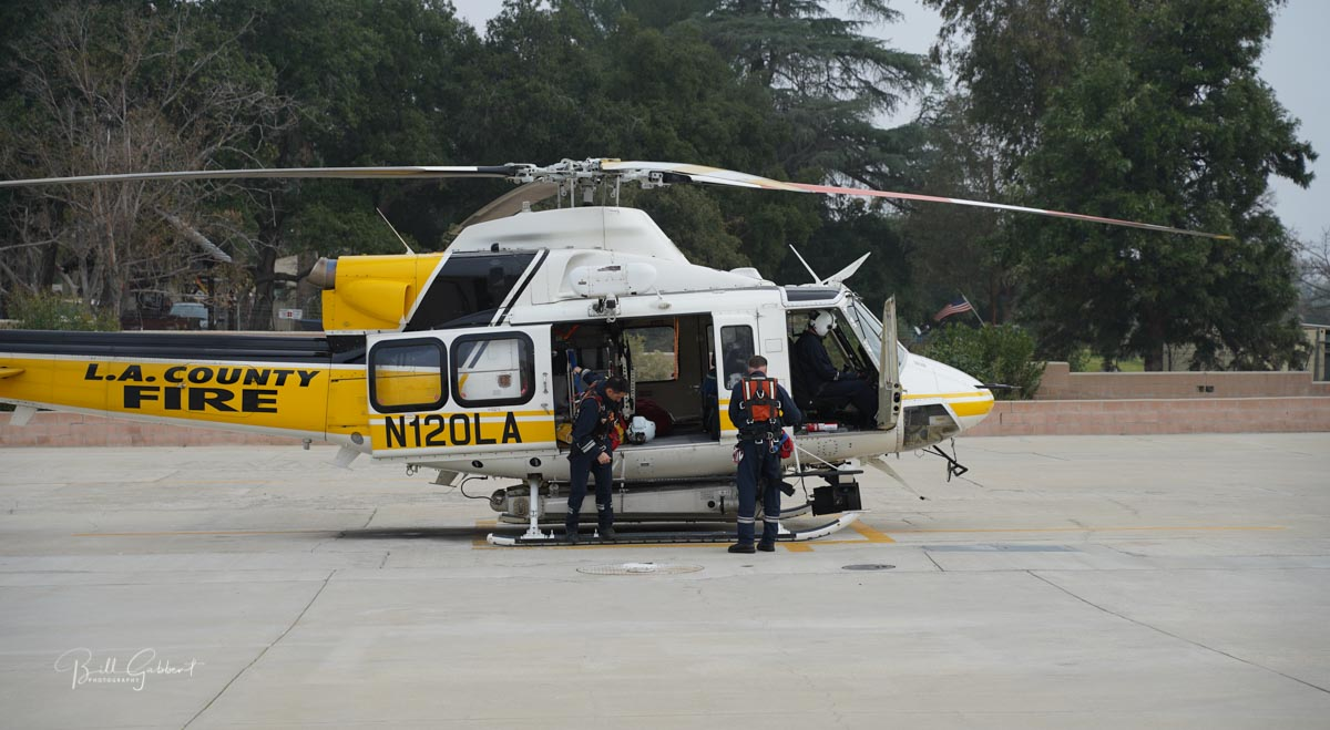 LA County Fire Department helicopter Kobe Bryant crash