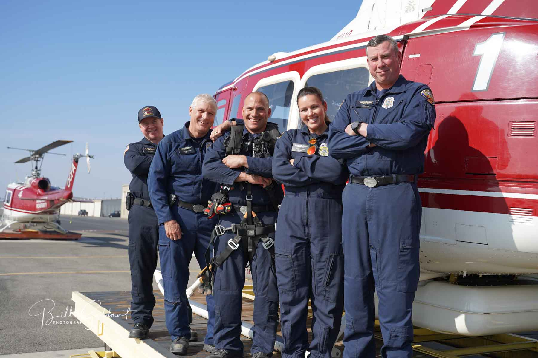 Orange County Fire Authority flight crews