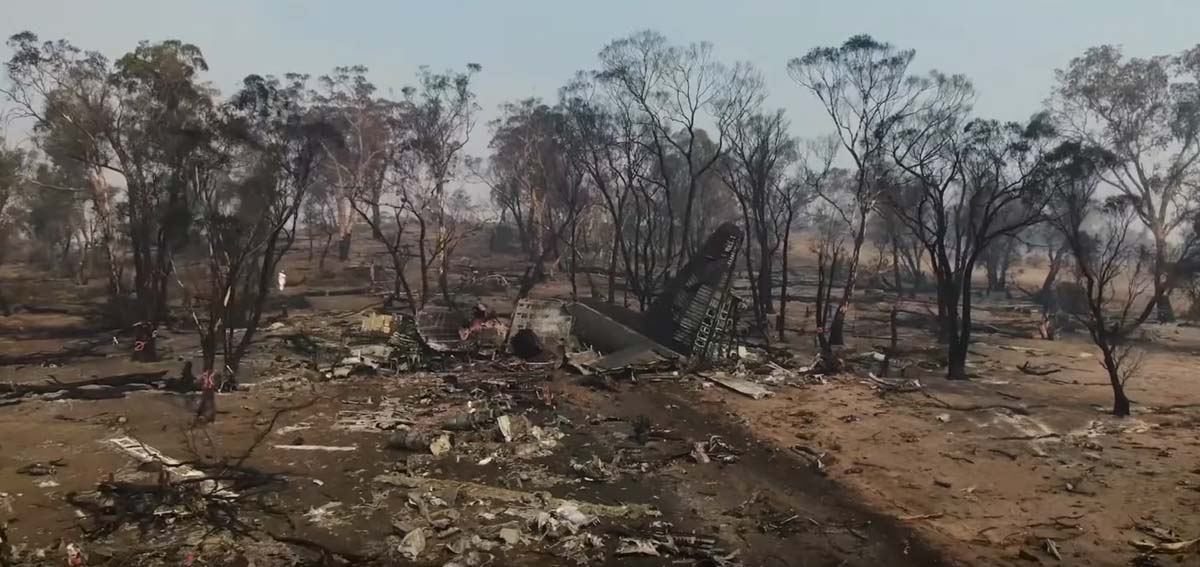 Tanker 134 C-130 crash EC-130Q Australia fatalities Coulson