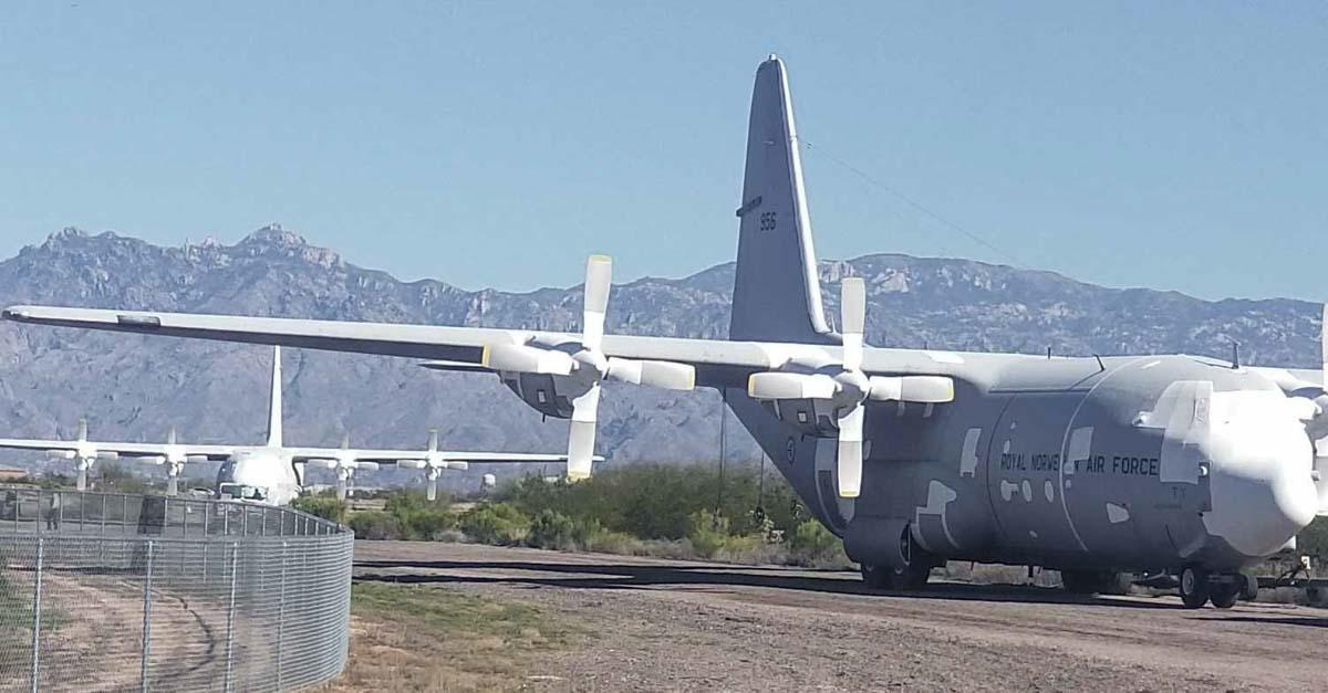 C-130H Coulson convert air tanker Tucson